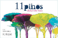 11 Pinos Bobal Old Vines (2010)
